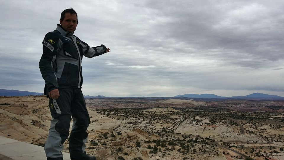 Looking out over Escalante