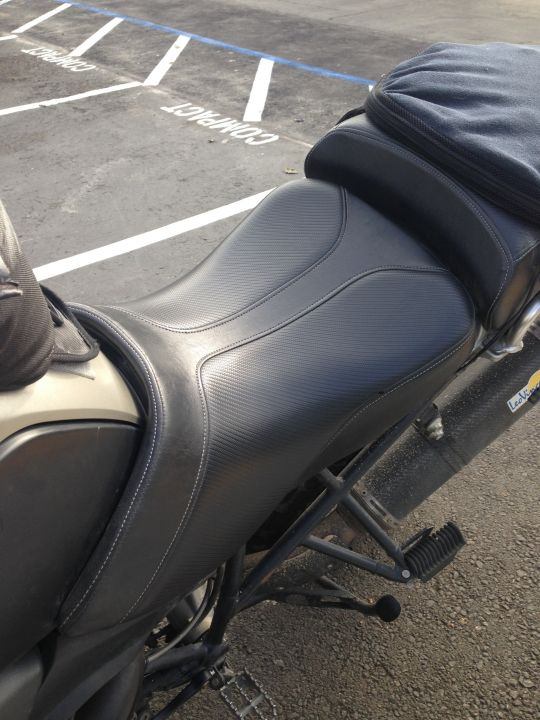 Saddlemen Adventure Track Seat (front and rear) R1200GSA (~25k miles on the seat)