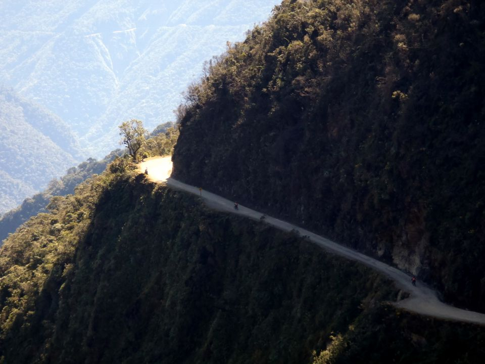 "The ""death road,"" Bolivia"