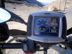 15,539 feet in evelation near Quime, Bolivia