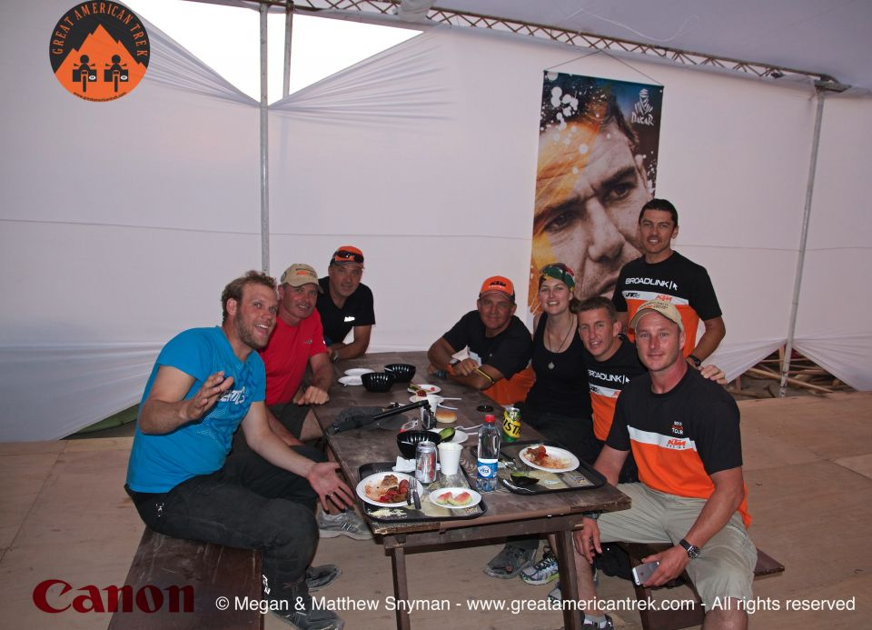 Saffers at the Dakar