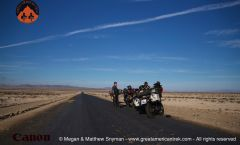 Riding through the Atacama