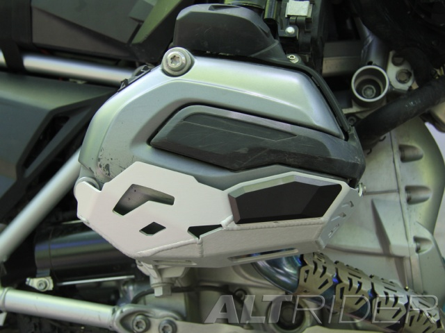 installed altrider cylinder head guards For The Bmw R 1200 Gs water cooled 2