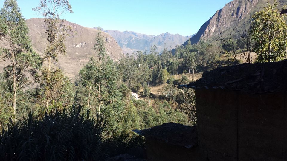 View of valley from Hostel de las Piedras