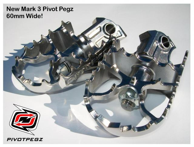 feature pivot pegz wide Mk3 For Bmw R 1200 Gs Gsa