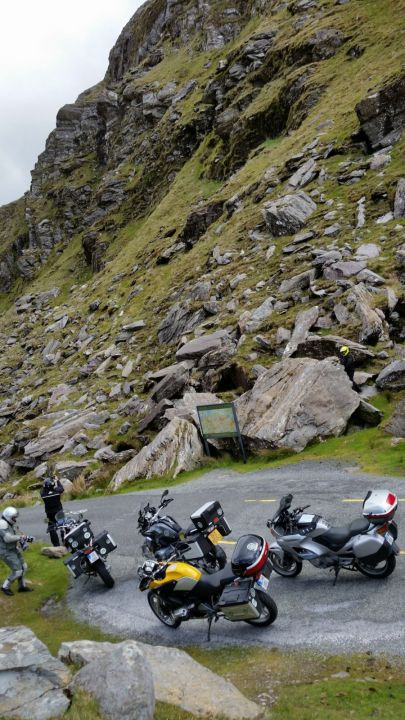 The Wide Spot in the Road  -- Ballagheama Gap, Inside the Ring of Kerry