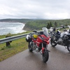 Overlooking a section on the Cabot Trail