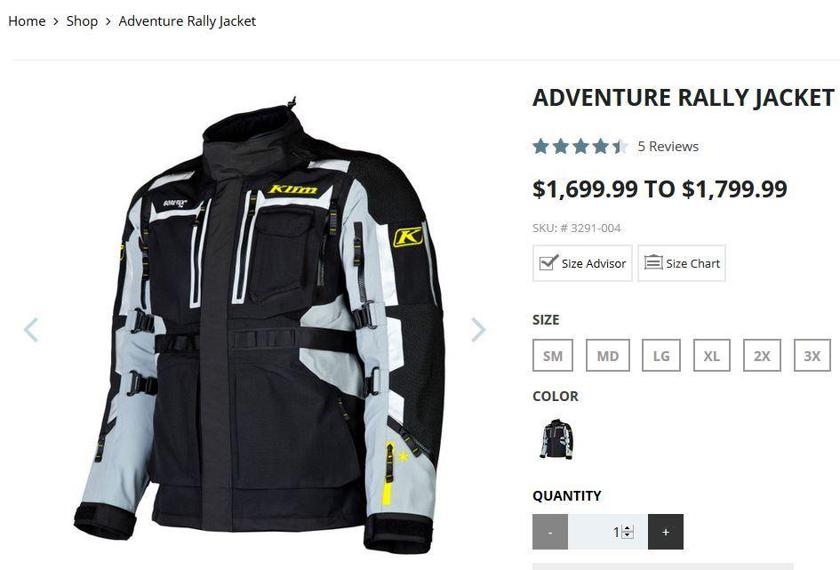 KLIM stupid expensive jacket 1.JPG