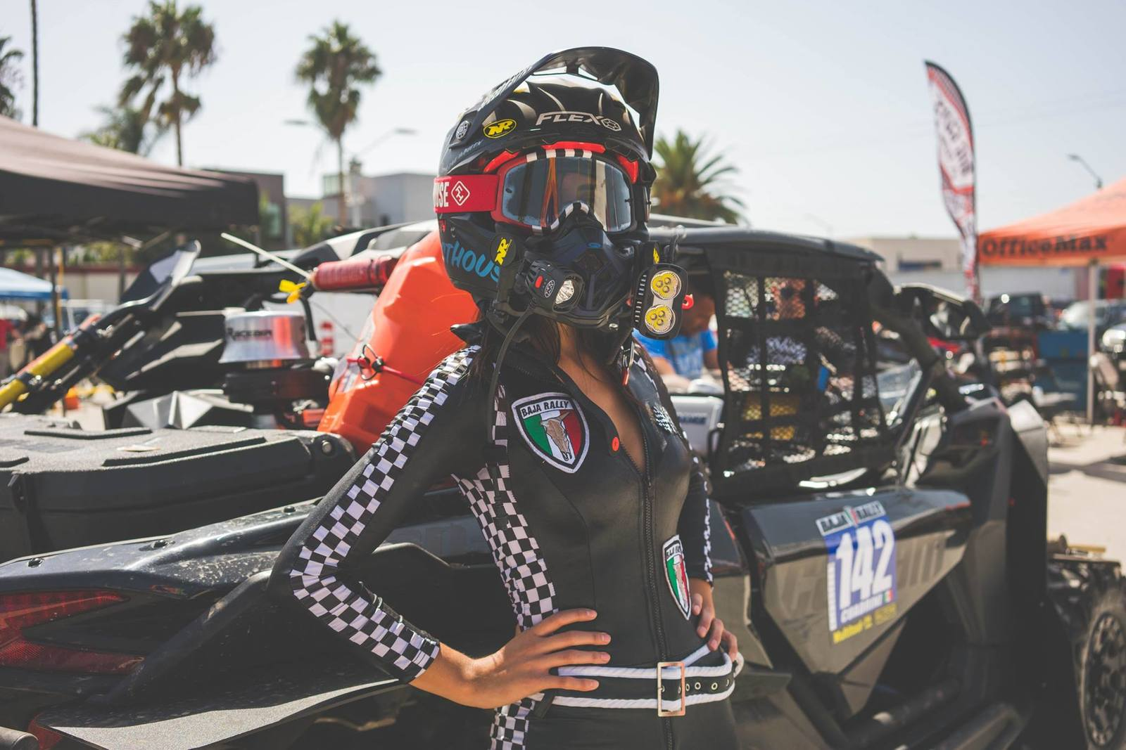 Baja Rally Girl 1