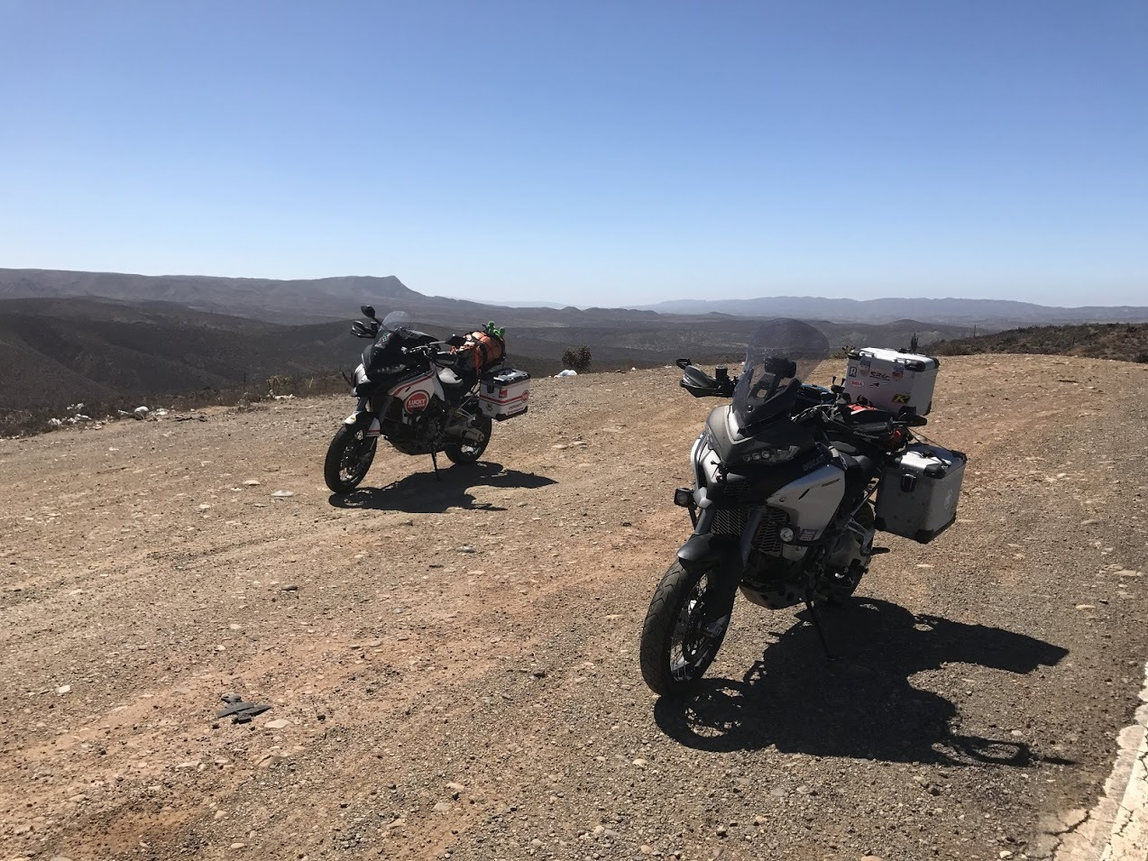 Two Ducatis in Baja